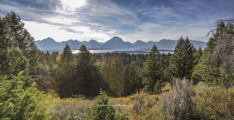 View from the top of Signal Mountain Road, Grand Teton National Park