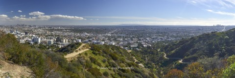 View from Runyon Canyon Park, Los Angeles