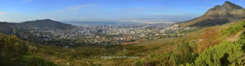View from the base of Table Mountain, Cape Town
