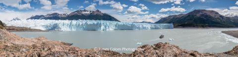 Glaciar Perito Morena, near El Calafate in Santa Cruz Patagonia, Argentina