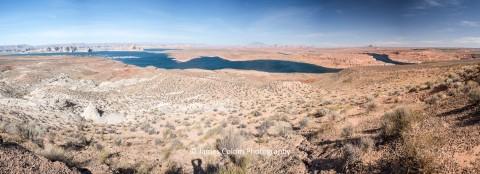 Lake Powell from Wahweap Overlook, Arizona, USA