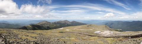 Mount Washington Summit with Train, New Hampshire