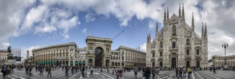 Piazza Del Duomo, Milano, Italia